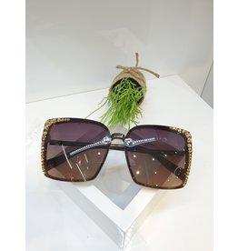 SNA0128- Gold Sunglasses