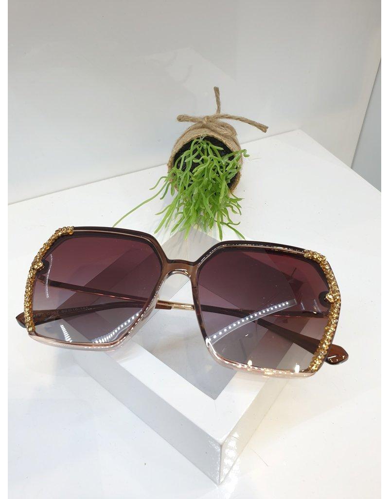 SNA0133- Gold Sunglasses