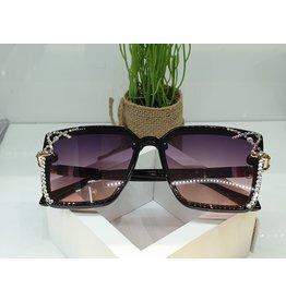 SNA0136- Silver Gold Sunglasses