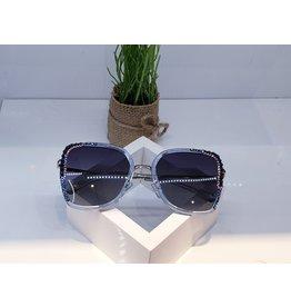 SNA0142- Blue/Silver Sunglasses