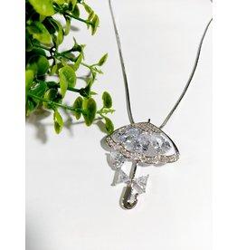 LCA0002-Silver,Umbrella Adj. B/Let