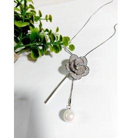 LCA0003-Silver,Flower Adj. B/Let