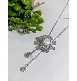 LCA0004-Silver,Flower Adj. B/Let