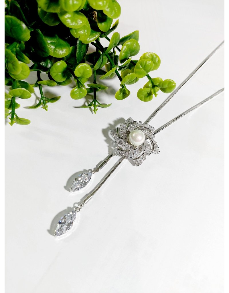 LCA0016-Silver,Flower Adj. B/Let