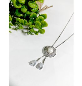 LCA0027-Silver,Pearl Adj. B/Let