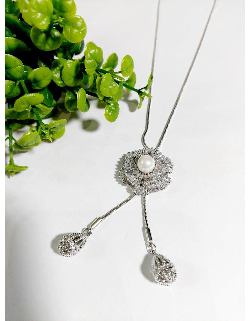 LCA0031-Silver,Pearl Adj. B/Let