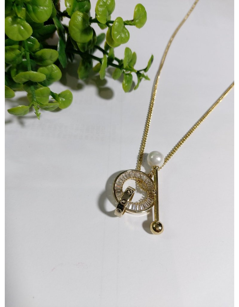 LCA0036-Gold,Pearl Adj. B/Let