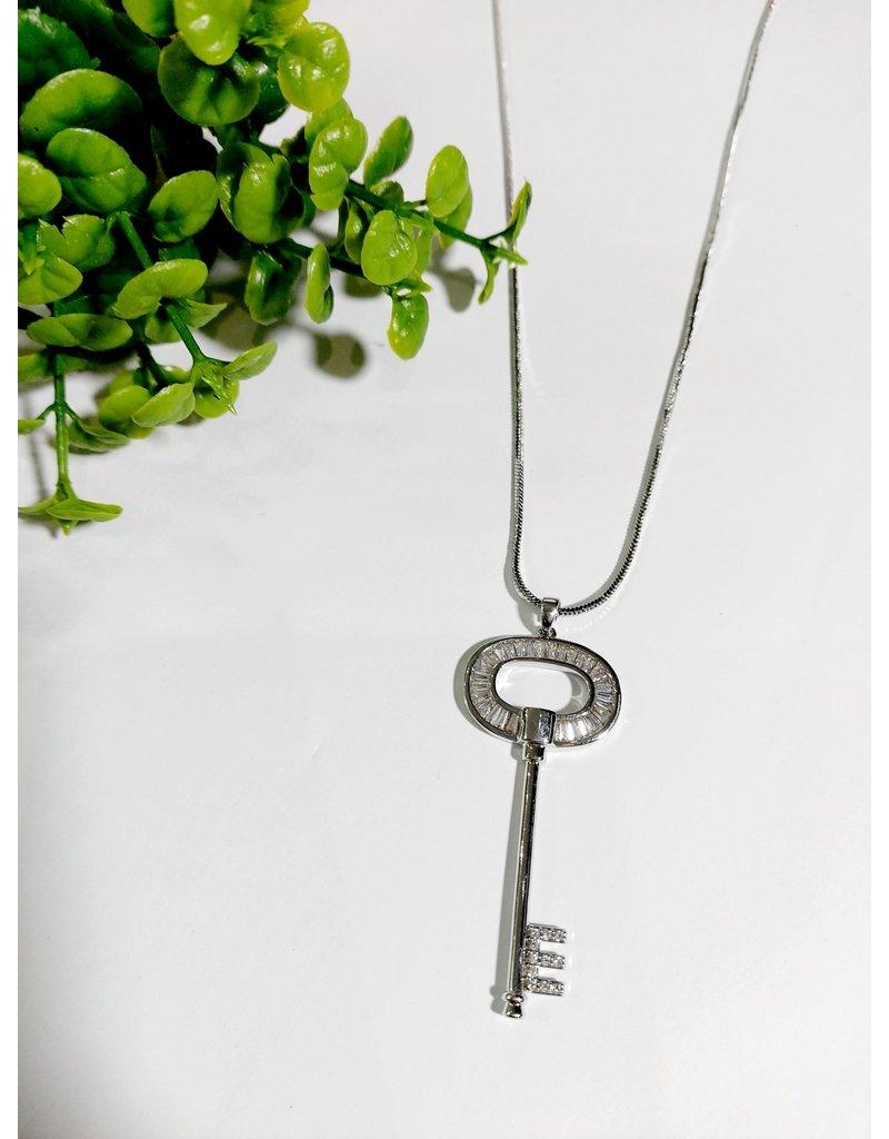 LCA0043-Silver,Key Adj. B/Let