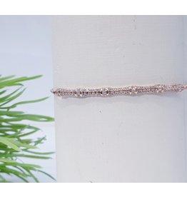 Bjf0003 - Rose Gold  Adjustable Bracelet