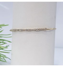 Bjf0004 - Gold  Adjustable Bracelet
