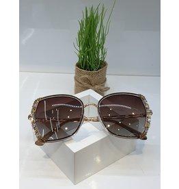 SNA0121- Gold Sunglasses