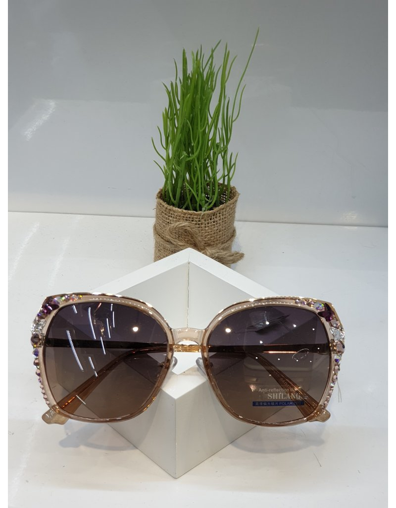 SNA0099- Coral/Pink Sunglasses
