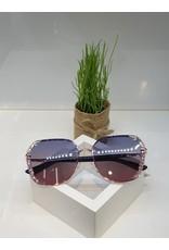SNA0093- Pink Silver Sunglasses