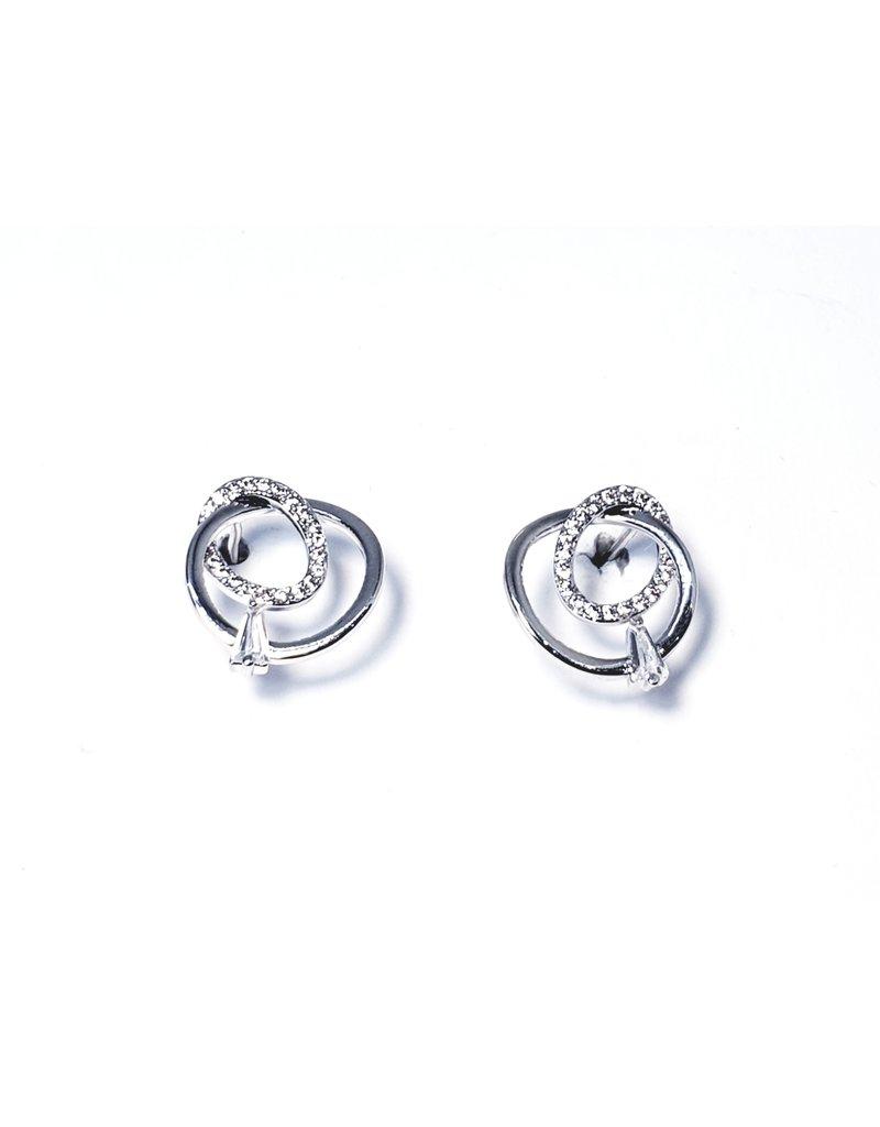 ERH0062 - Silver Earring