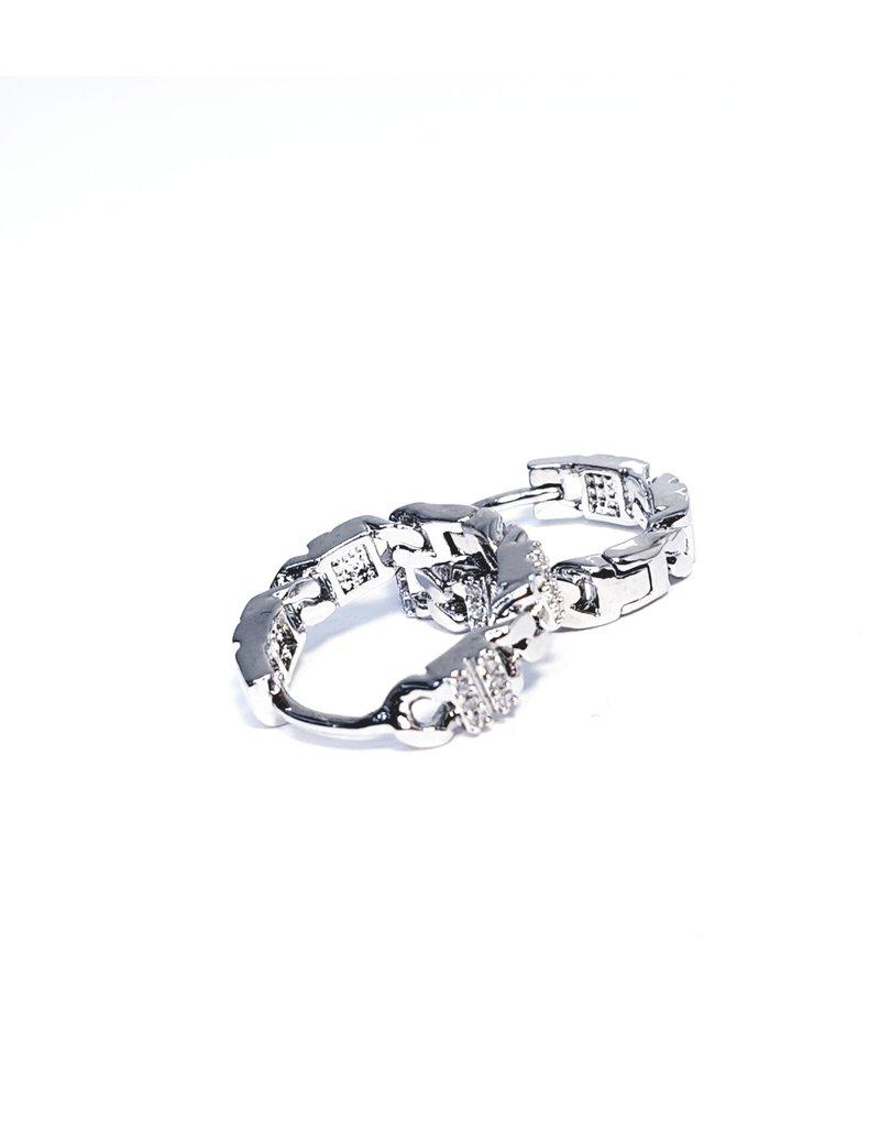 ERH0101 - Silver  Earring