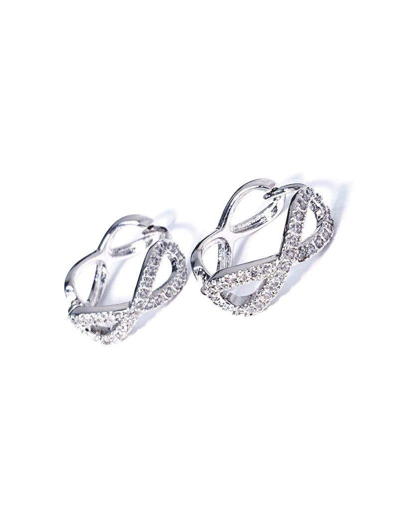 ERH0106 - Silver Infinity  Earring