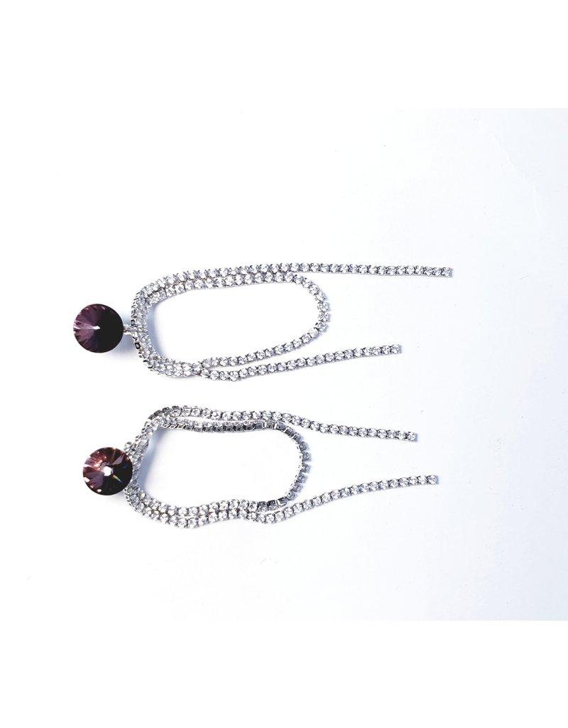 ERH0118 - Silver  Earring