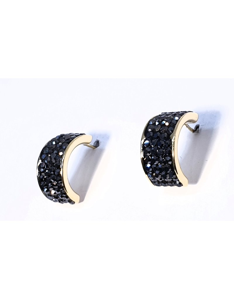 ERH0138 - Black  Earring