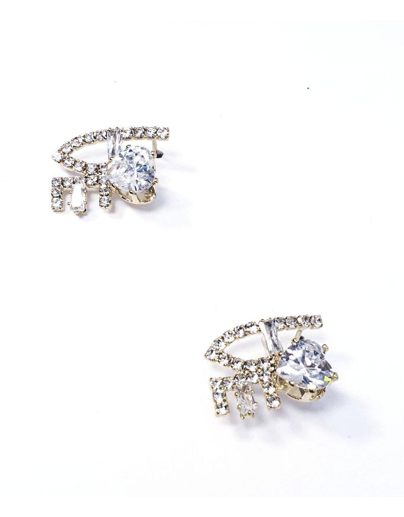 ERH0162 - Gold  Earring