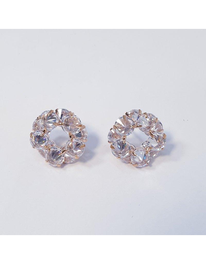 ERH0242 - Rose Gold  Earring