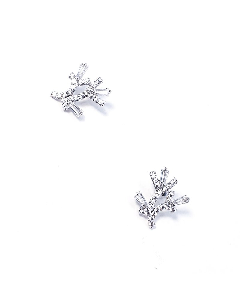 ERH0247 - Gold Diamond  Earring