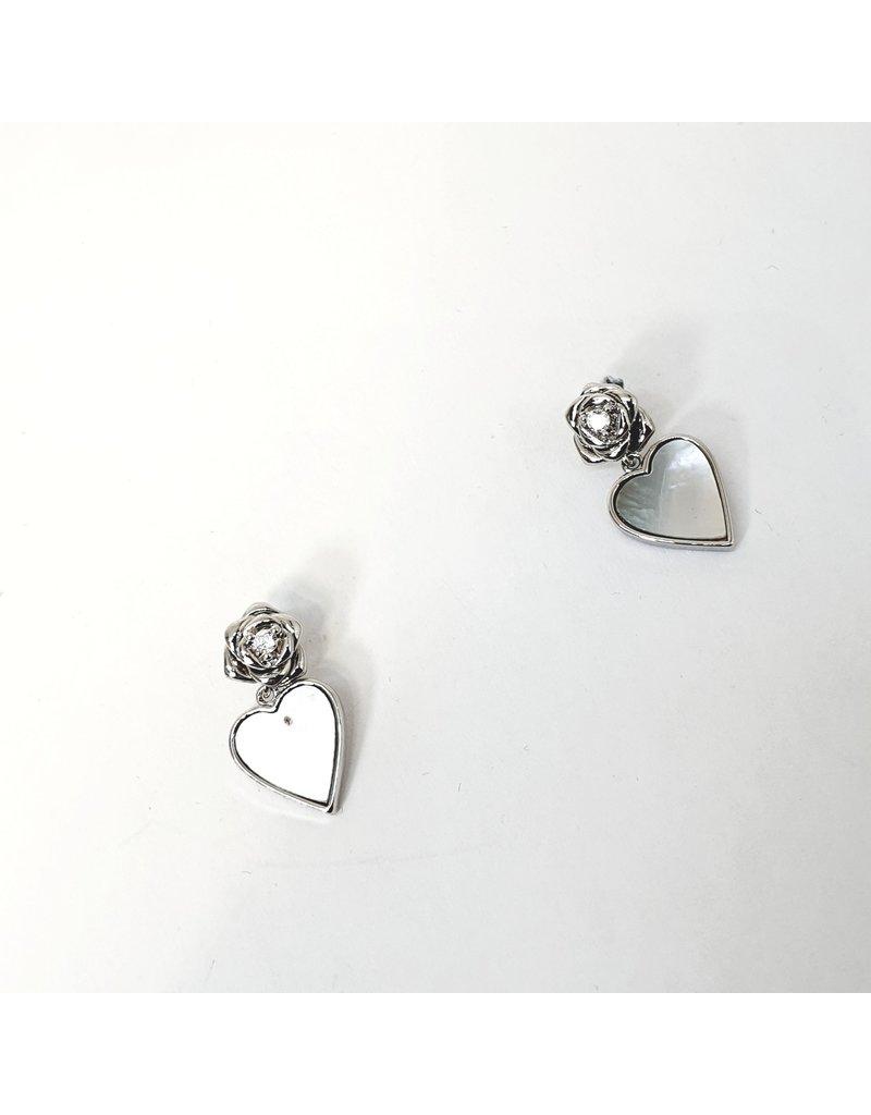 ERH0254 - Silver Stars  Earring