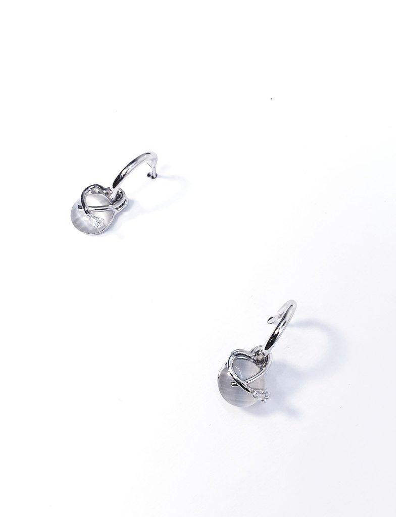 ERH0287 - Silver  Earring
