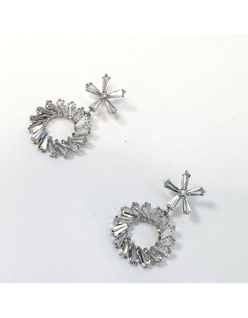 ERH0317 - Silver  Earring