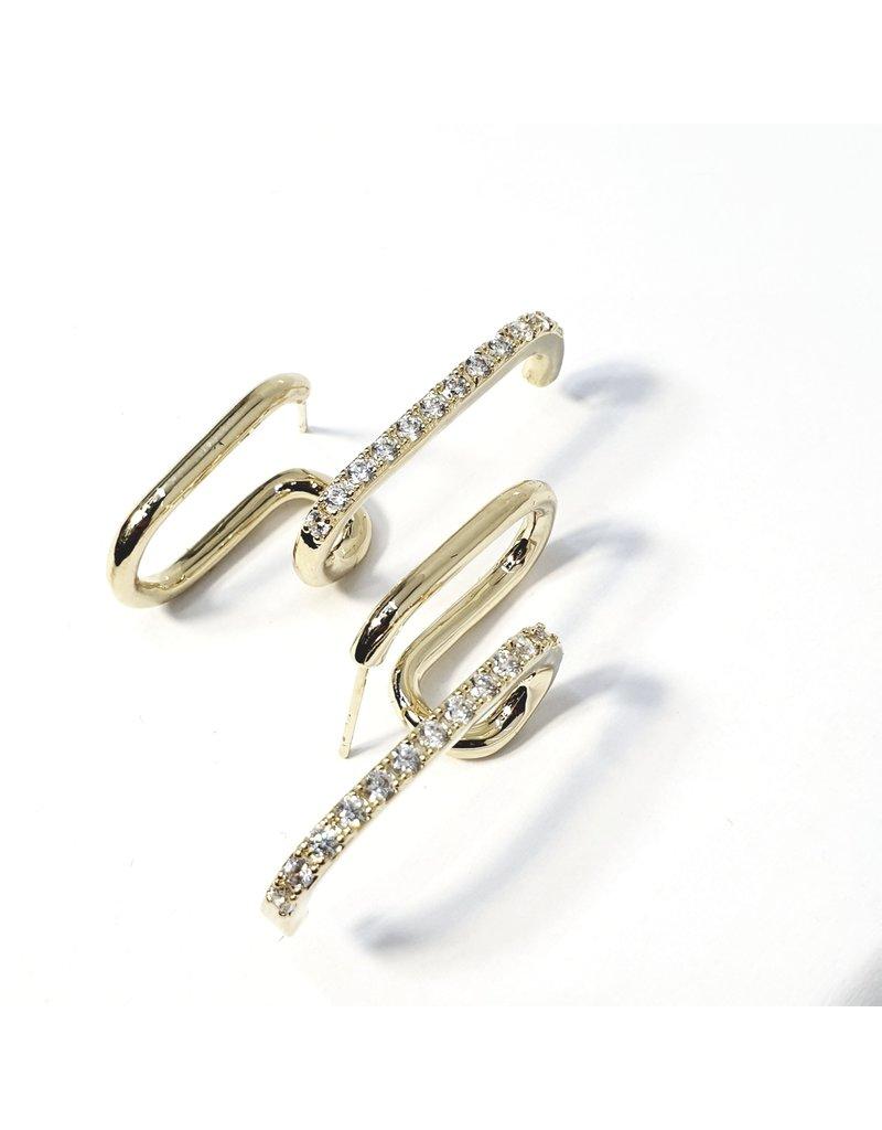 ERH0360 - Gold  Earring