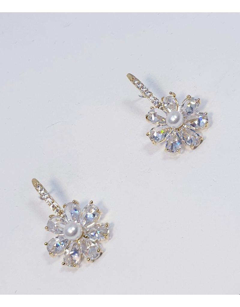 ERH0363 - Gold Pearls  Earring
