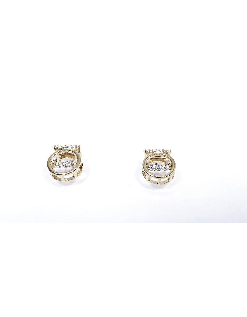 ERH0376 - Gold Ring  Earring