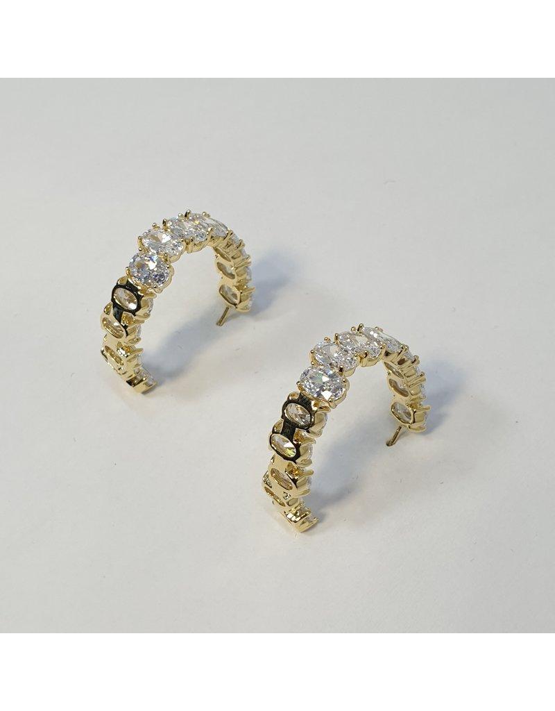 ERH0393 - Gold  Earring