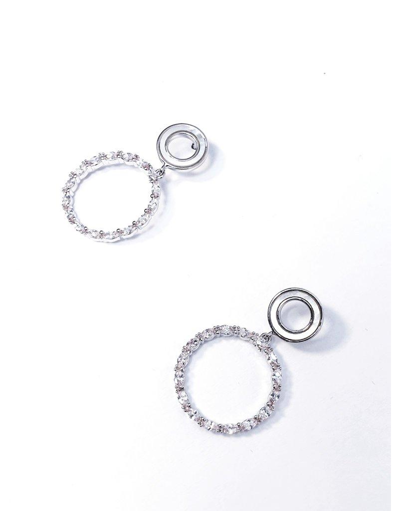 ERH0403 - Silver  Earring