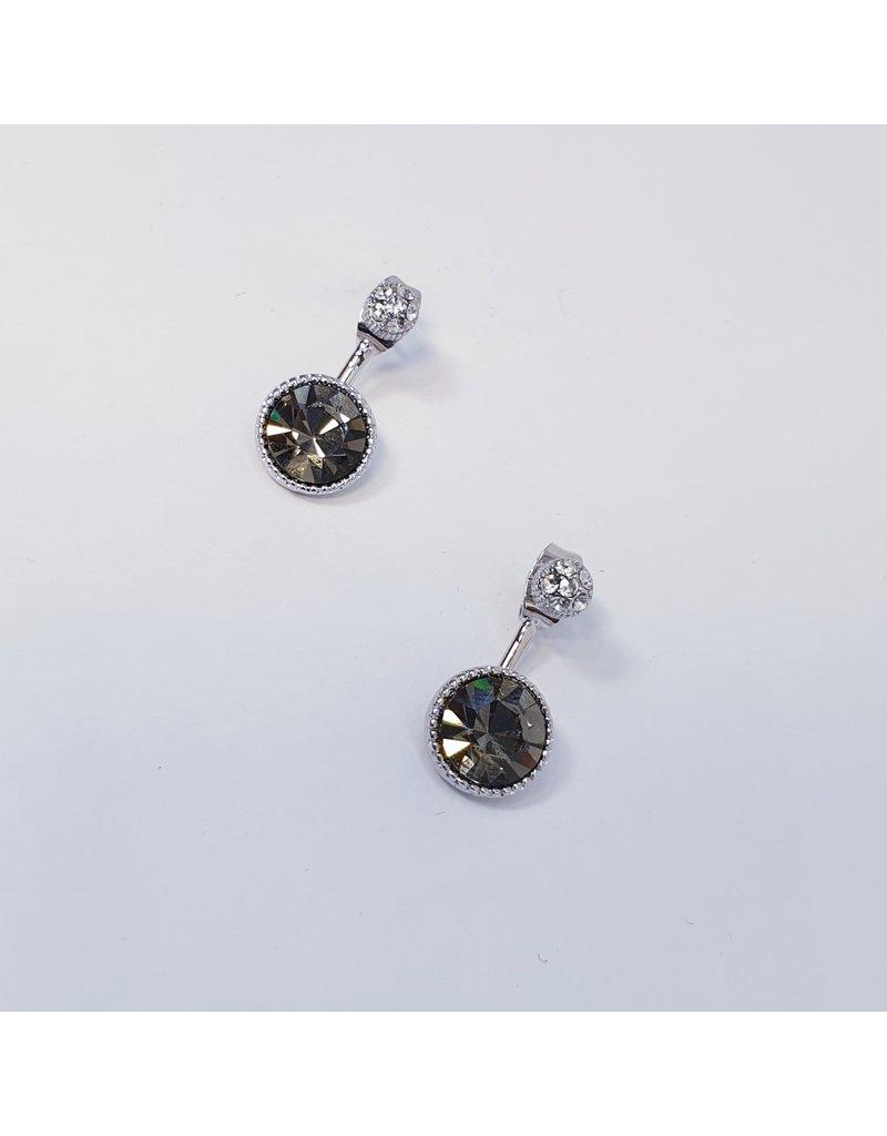 ERH0404 - Silver Grey  Earring