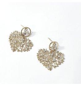 ERH0407 - Gold  Earring
