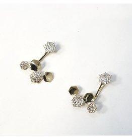 ERH0417 - Gold  Earring