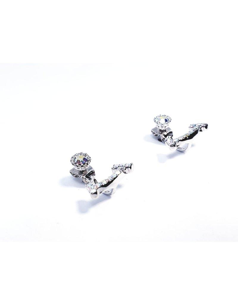 ERH0422 - Silver  Earring