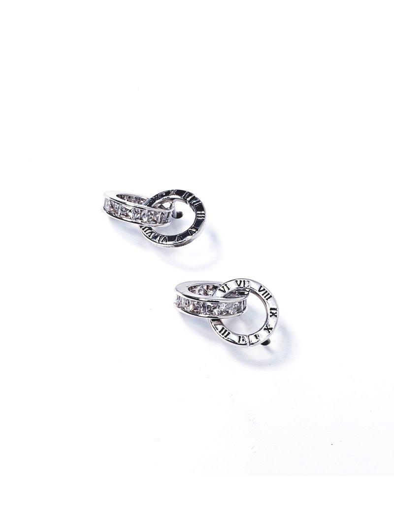 ERH0003 - Silver ,  Earring