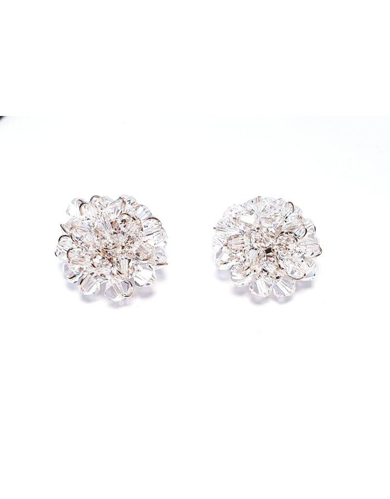 ERH0012 - Rose Gold Crystal,  Earring