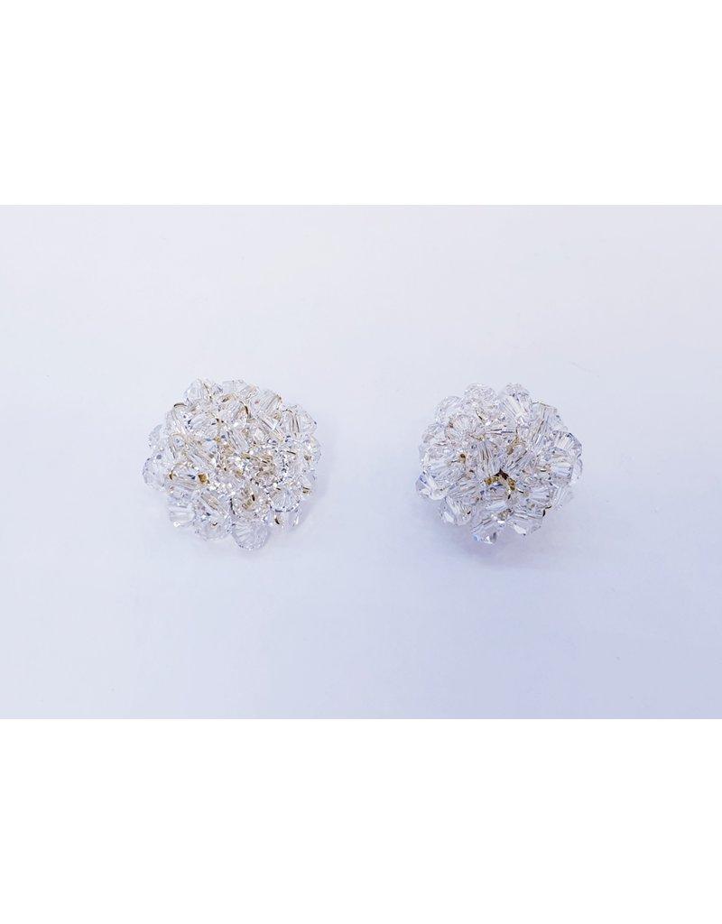 ERH0013 - Gold Crystal,  Earring