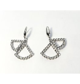 ERH0018 - Silver Drop,  Earring