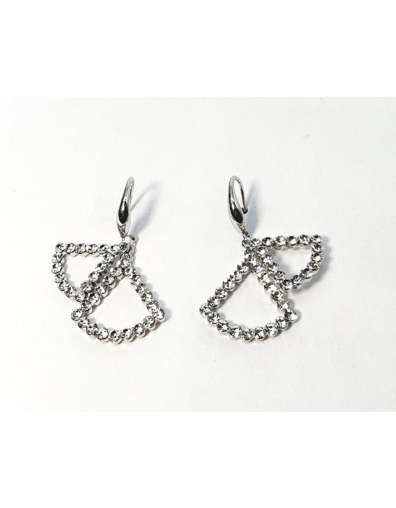 ERH0018 - Silver Drop,  Earring