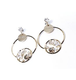 ERH0038 - Gold Drop,  Earring