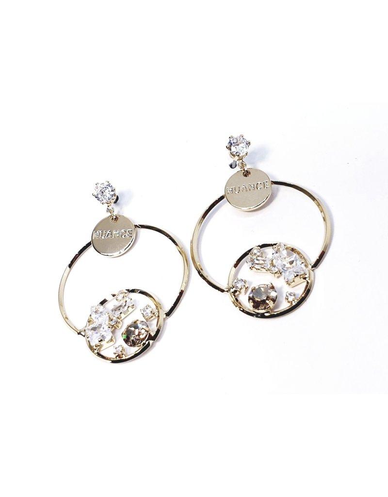 ERH0038 - Gold Drop,  Earring
