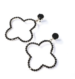ERH0044 - Gold Black,  Earring