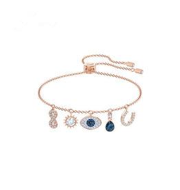 EEA0010 - Rose Gold Evil Eye Bracelet