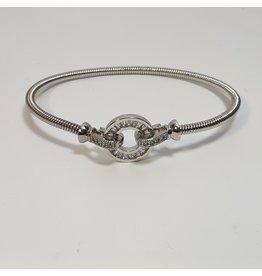BGH0005 - Silver,  Bangle