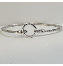 BGH0016 - Silver,  Bangle