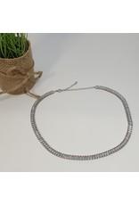 CHL0001 - Silver,  Choker
