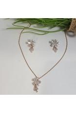 CSC0017 - Rose Gold,  Necklace Set